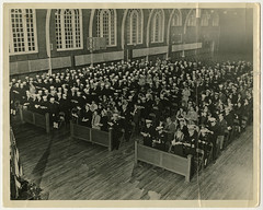Yom Kippur services at Great Lakes, Illinois