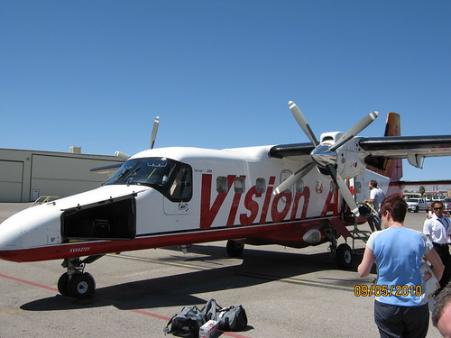 our plane for the ride to the bar 10 ranch from las vegas