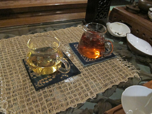 Oolong and Puerh