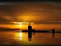 Royal Navy Submarine HMS Triumph Enters HMNB Clyde