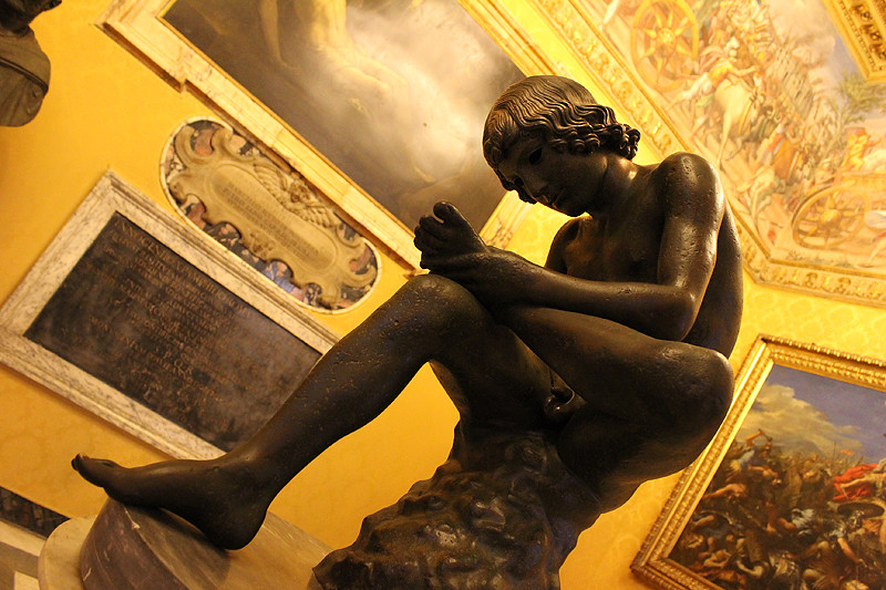 Boy with thorn (Lo Spinario) - Capitoline Museum