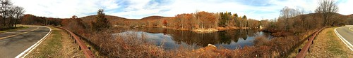 Pano of Route 6 Lake