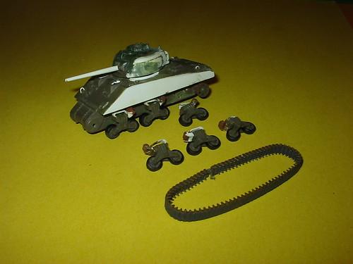 """Airfix """"M4"""" Medium Tank, Sherman"""
