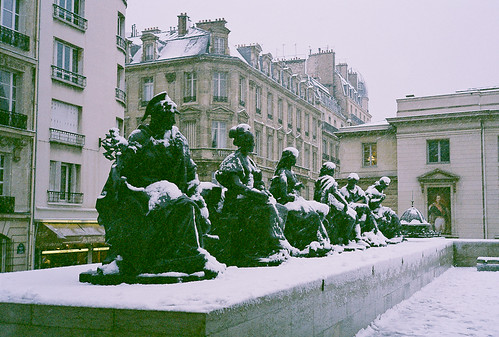 All Statues With Snow