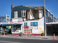 Earthquake damage - dairy