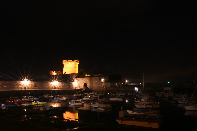 Fort de Socoa by night