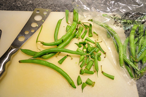 French Beans Chopped Head and Tail