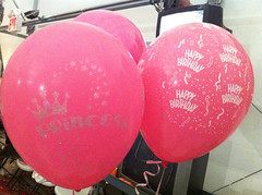 Birthday (Princess Sparkle) Balloons!