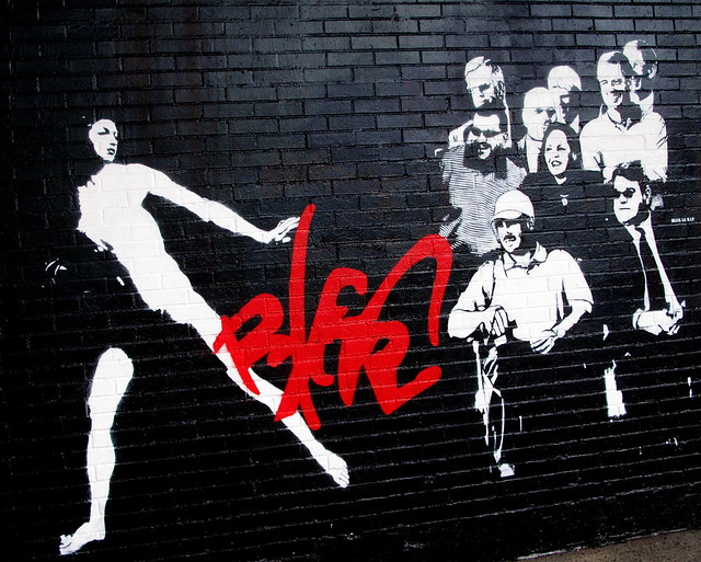 Blek le Rat in NYC