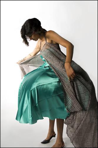 Blowfish Dress by AmishAmishA