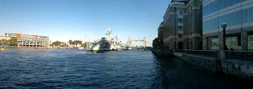 HMS Belfast - N8 Panorama