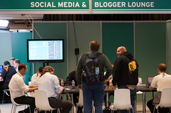Social Media and Blogger Lounge