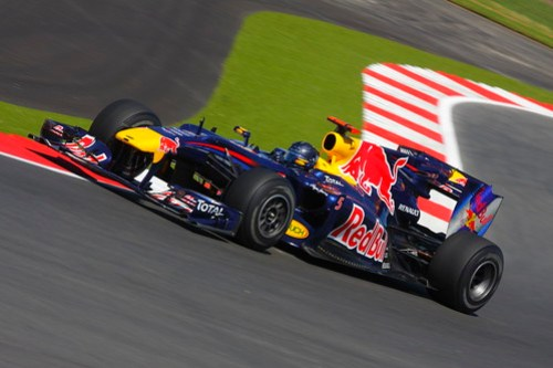 British GP - Sebastian Vettel, Red Bull