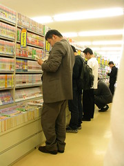 Manga i bokhandelen