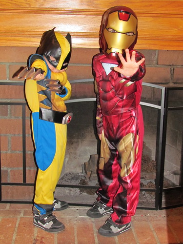 wolverine and ironman