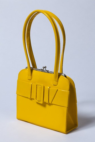 A bright yellow handbag, LC1996_48