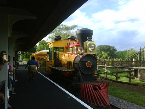 Busch gardens Railway