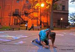 Chalk Art in the Park