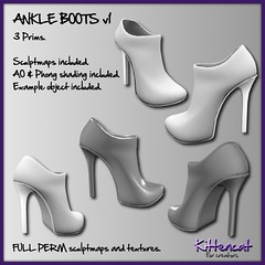 FULL PERM ADS - Ankle Boots v1