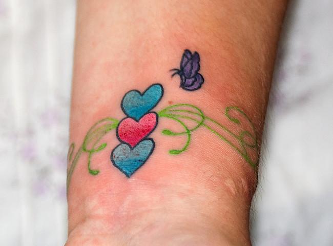 Kirsten's tatoo