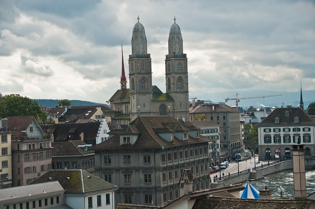 The Grossmunster Kirche, Zurich