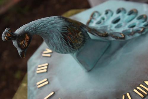 Peacock Sundial