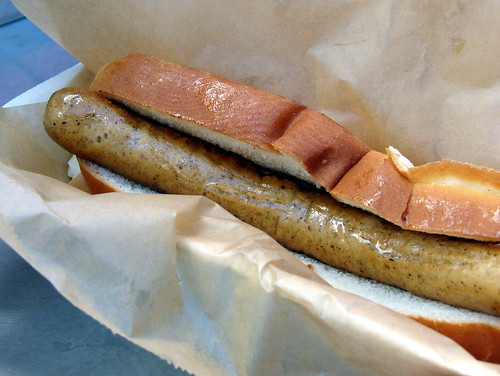 Hewtin's house made dog