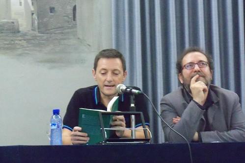 Presentación en Barcelona de 'La mirada del bosque' de Chesús Yuste