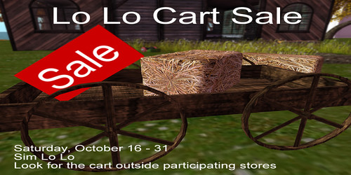 Lo Lo Cart Sale: Oct 16-31
