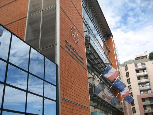 Entrée du Centre Pierre Baudis, Toulouse, Novela 2010