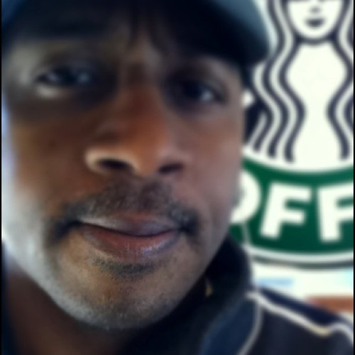 Movember photo day 7:  At @Starbucks mo!  #teamrdu http://goo.gl/4bl0 donate to help the mo!