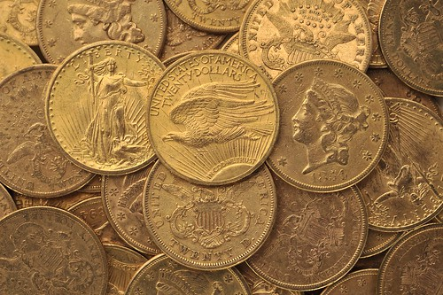 American gold coins by portableantiquities