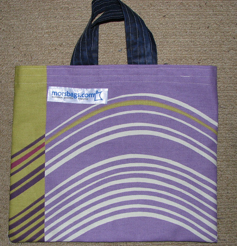 mini morsbag with swirls