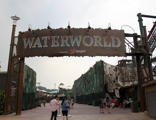 Waterworld Entrance at the Universal Studios Singapore