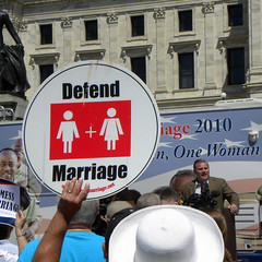 National Organization for Marriage rally again...