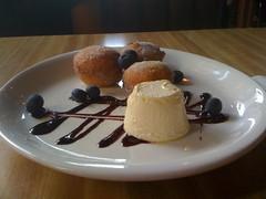Dessert at the Happy Gnome