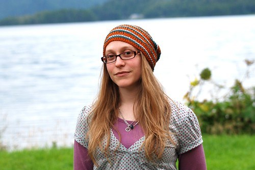 Labyrinth - crochet hat