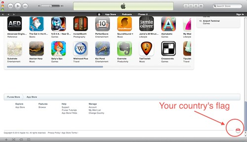 iTunes Store 10.0 Free US Account (4/6)