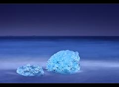 Ice Cubes - Jökulsárlón, Iceland by orvaratli