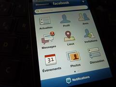 Facebook Mobile iPhone