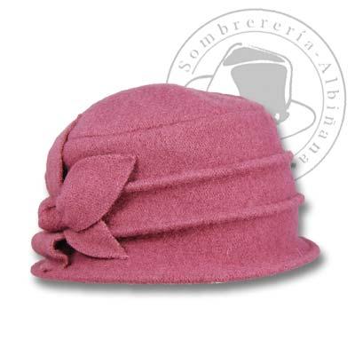 Sombrero en lana de mujer