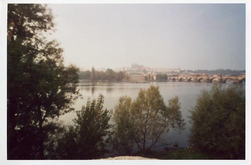 Prague Castle in distance