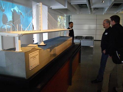 Bay Bridge Seismic Safety Project Exhibit, Autodesk Gallery @ Market One