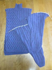 Amythest Pullover Progress 3