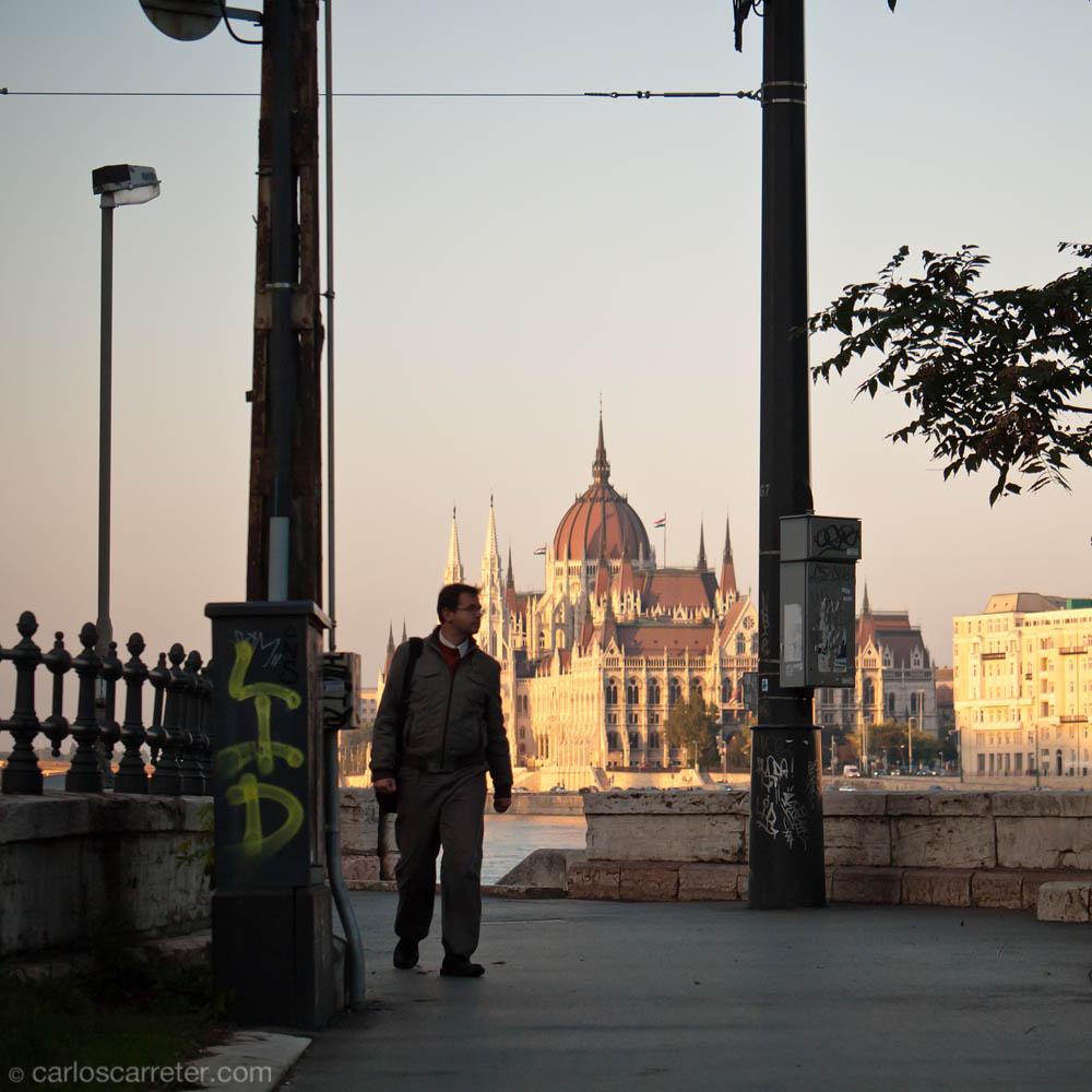 Parlamento desde el Puente de las Cadenas