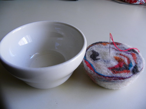 Wool Wad and Holder