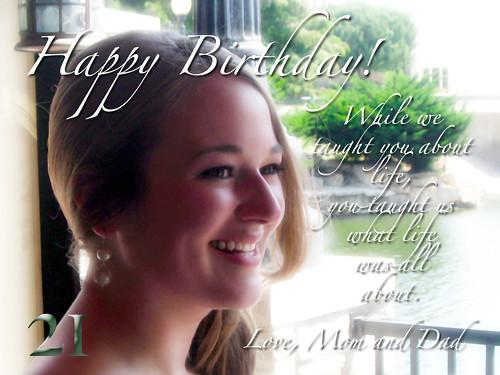 Happy birthday, Ali!