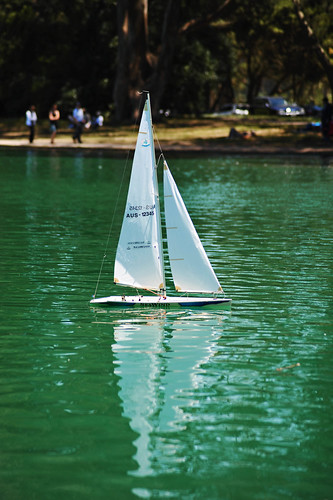 mini sailboat