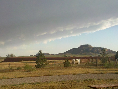 2010-06-16 Clouds over Tucumcari Mountain 1