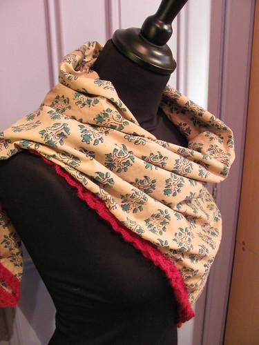 crochet border shawl_2